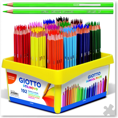 192 Giotto Stilnovo Colouring Pencils